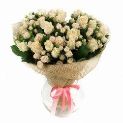 """Букет цветов """"Восторг"""" Кустовые розы"""
