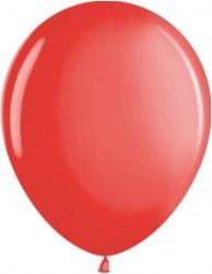 """Латексный шар с гелием """"Красный"""" 12"""" (30 см)"""