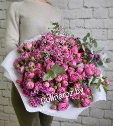 """Букет цветов """"Райский день"""" Кустовые розы"""