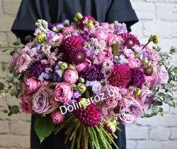 """Букет цветов """"Фиолетка"""""""