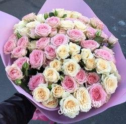 """Букет цветов """"Важный день"""" Кустовые розы"""