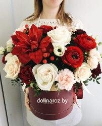 """Цветы в коробке """"Экзотическая"""""""