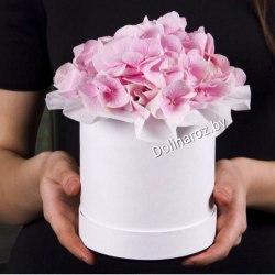 """Цветы в коробке """"Милый подарок"""""""