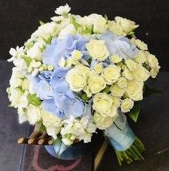 """Букет невесты """"Голубая мечта"""""""