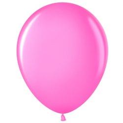 """Латексный шар с гелием """"Розовый"""" 12"""" (30 см)"""