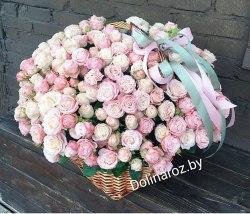 """Корзина с цветами """"Мадам"""""""