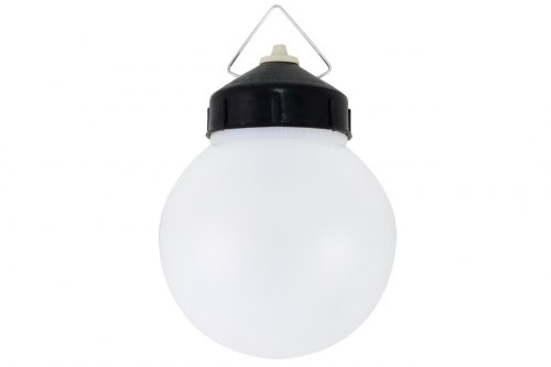 Светильник шар 150 мм подвесной в сборе