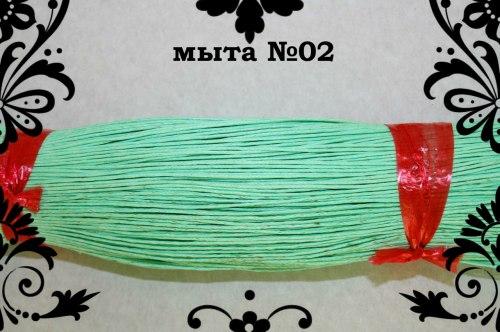 Шнур вощеный 1 мм, цвет в ассортименте