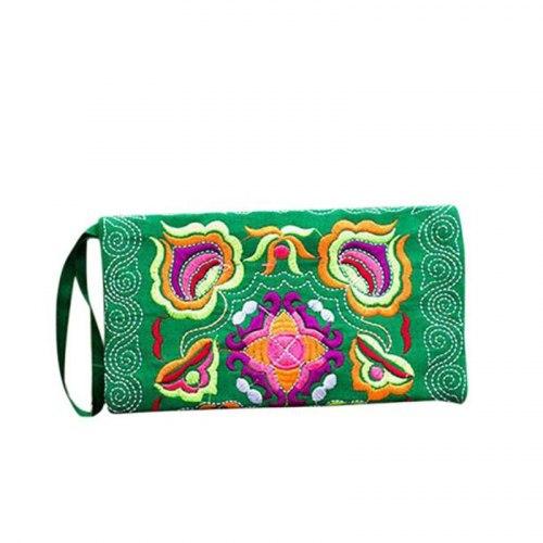 Клатч в Энто стиле, с вышивкой