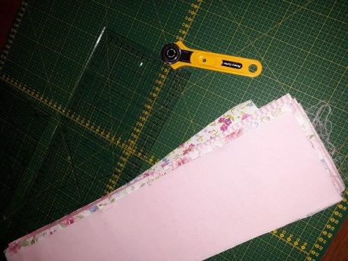 Розовое одеялко, процесс пошива :)