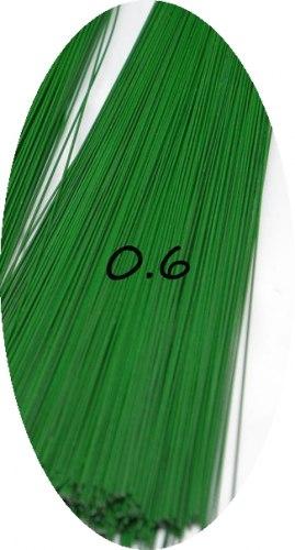 Проволока окрашеная зеленая