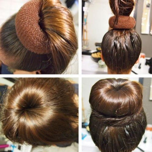 Бублик пончик для волос. Шпильки