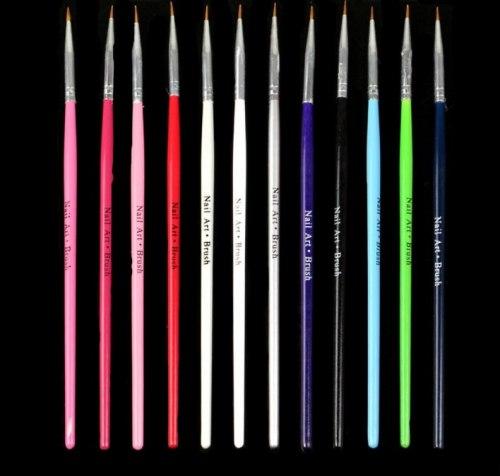Лайнер кисточки для росписи ногтей