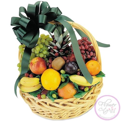 Корзинки с фруктами своими руками