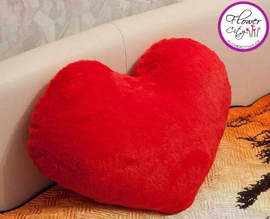 Подушка сердце своими руками