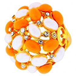 Кольцо под золото tutti frutti