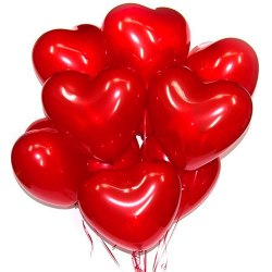 "Латексные шары сердца 15"""