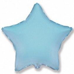 Шары фольгированные звезда (по цветам)