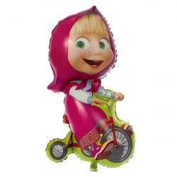 Фигура Маша на велосипеде