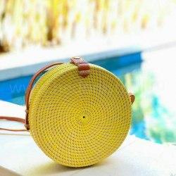 Сумка плетеная LIME