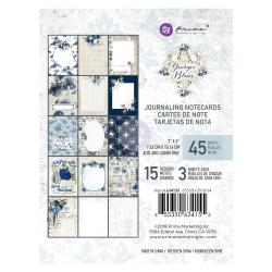 Набор карточек для журналинга, 15 штук, 3х4 Prima Marketing Ink Georgia Blues
