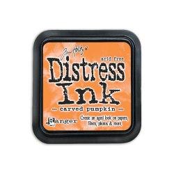 Дистресс чернила мини, Distress Ink - Carved Pumpkin Ranger 30х30 мм