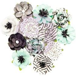 Набор цветов, 12 шт. Prima Marketing Ink из коллекции Flirty Fleur