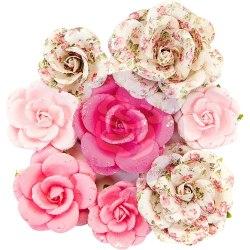 Набор цветов, 8 шт., Prima Marketing Ink из коллекции Misty Rose
