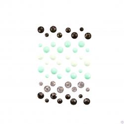 Crystals Misty Rose кристаллы (камни) Prima Marketing Ink из коллекции Flirty Fleur