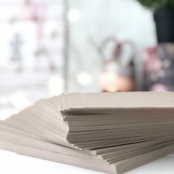 Картон переплетный 1,5 мм, 20х20 см. Eska Graphic Board