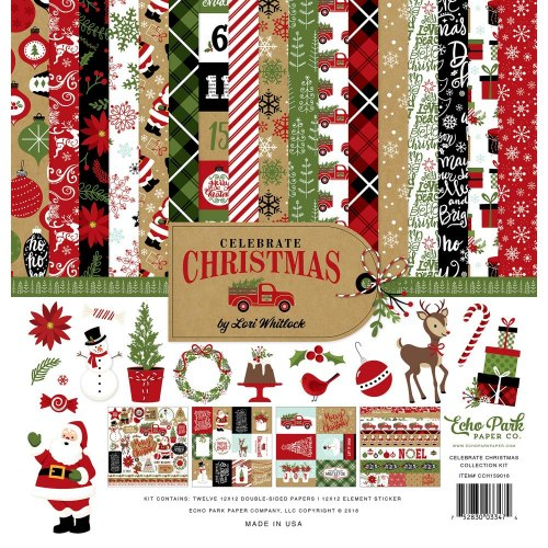 "Collection Kit 12""X12"" Celebrate Christmas Echo Park"