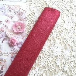 Глиттерная ткань, цвет бордовый