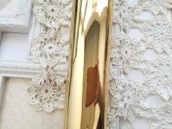Винил Зеркальное золото