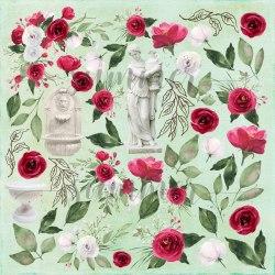 Лист для вырезания 30,5*30,5см. Summer Studio Antique garden