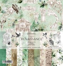 """Набор бумаги 11шт, 30,5*30,5см, 190гр. Summer Studio """"Renaissance"""""""