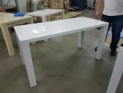 Раздвижной обеденный глянцевый стол Солярис-2 HomeLine
