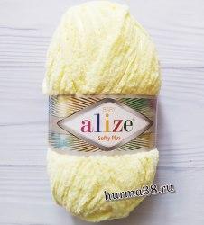 Пряжа Ализе Софти Плюс (Alize Softy Plus) 13 светлый лимон