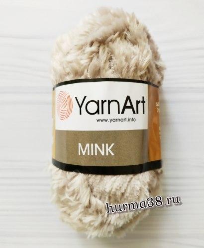 Пряжа Ярнарт Минк (YarnArt Mink) 337 бежевый