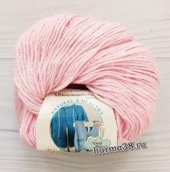 Пряжа Ализе Бейби Вул (Alize Baby Wool) 185 светло-розовый