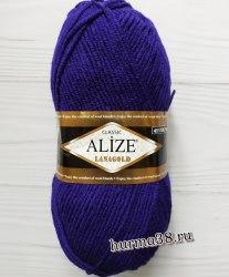 Пряжа Ализе Ланаголд (Alize Lanagold) 388 пурпурный