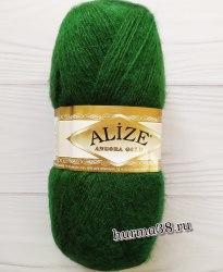 Пряжа Ализе Ангора Голд (Alize Angora Gold) 118 зелёная трава