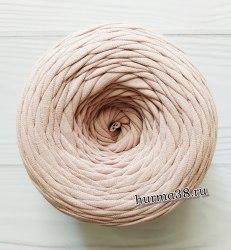 Трикотажная пряжа цвет пудра