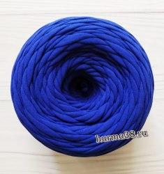 Трикотажная пряжа цвет синий электрик