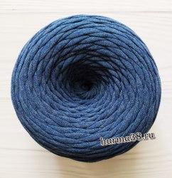 Трикотажная пряжа цвет джинс меланж