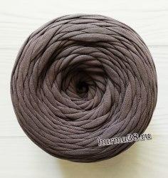 Трикотажная пряжа цвет какао