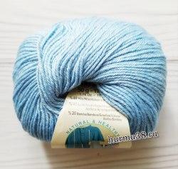 Пряжа Ализе Бейби Вул (Alize Baby Wool) 350 голубой