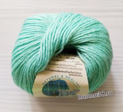 Пряжа Ализе Бейби Вул (Alize Baby Wool) 19 водяная зелень