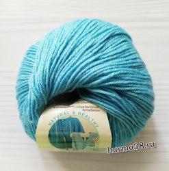 Пряжа Ализе Бейби Вул (Alize Baby Wool) 128 морская вода