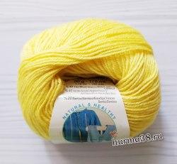 Пряжа Ализе Бейби Вул (Alize Baby Wool) 187 лимонный
