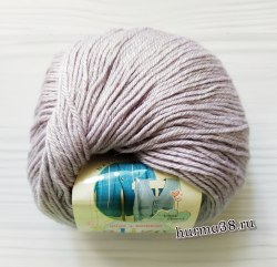Пряжа Ализе Бейби Вул (Alize Baby Wool) 52 талая вода
